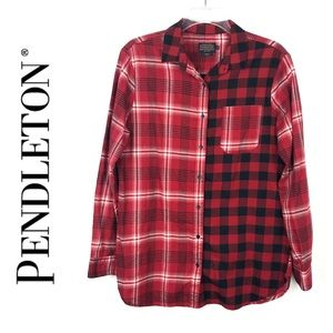 Pendleton Plaid Top